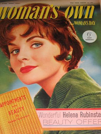 WOMANS OWN magazine, February 3 1962 issue for sale. MONICA DICKENS, BEVERLEY NICHOLS, FICTION, FASH