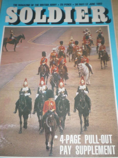 SOLDIER magazine, 30 May - 12 June 1983 issue for sale. Original British publication from Tilley, Ch
