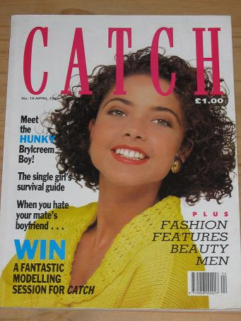 CATCH MAGAZINE NUMBER 19 APRIL 1991 BACK ISSUE FOR SALE VINTAGE WOMENS PUBLICATION PURE NOSTALGIA AR