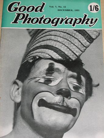 GOOD PHOTOGRAPHY magazine, December 1951 issue for sale. Vintage PHOTO, CAMERA publication. Classic