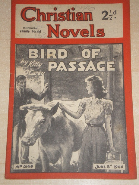 CHRISTIAN NOVELS, June 3 1946 issue for sale. KITTY CAREY, 2149. Original British publication from T