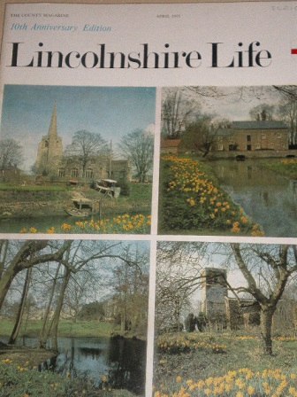 LINCOLNSHIRE LIFE magazine, April 1971 issue for sale. Original British publication from Tilley, Che