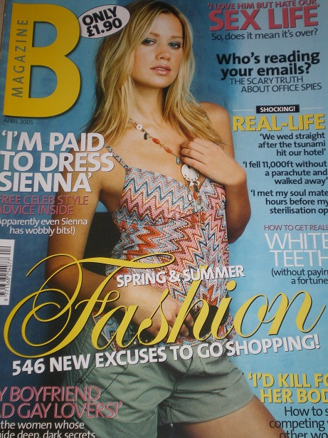 B magazine, April 2005 issue for sale. Original British publication from Tilley, Chesterfield, Derby