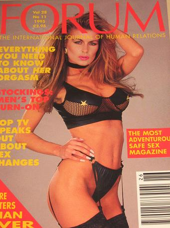 FORUM magazine, Volume 28 Number 11 issue for sale. 1995 ADULT, SEXUAL RELATIONS publication. Classi