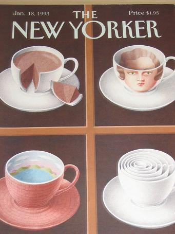 The NEW YORKER magazine, January 18 1993 issue for sale. Classic images of the twentieth century. FI