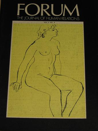 FORUM magazine, Volume 2 Number 5 issue for sale. 1969 ADULT, SEXUAL RELATIONS publication. Classic