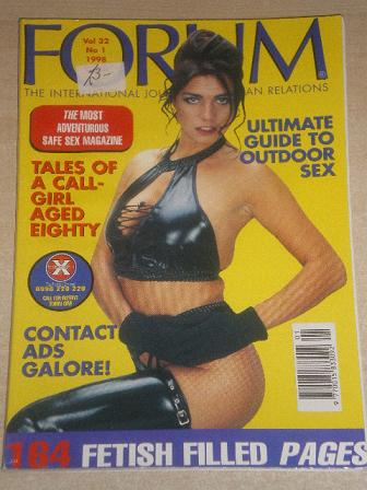 FORUM magazine, Volume 32 Number 1 1998 issue for sale. Original British adult publication from Till