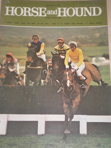 HORSE AND HOUND magazine, January 6 1978 issue for sale. CHELTENHAM. Original publication from Tille