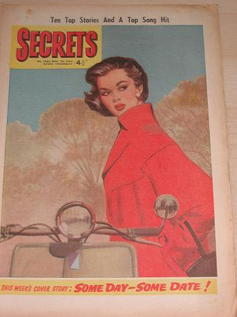 SECRETS magazine, November 30 1963 issue for sale. ROMANTIC FICTION, WOMENS FICTION. Birthday gifts