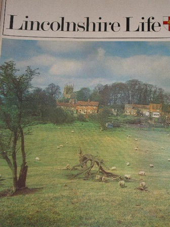 LINCOLNSHIRE LIFE magazine, February 1973 issue for sale. Original British publication from Tilley,