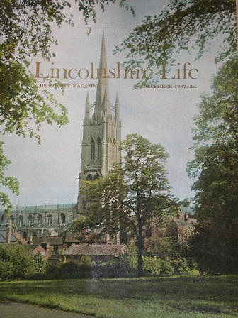 LINCOLNSHIRE LIFE magazine, December 1967 issue for sale. Original British publication from Tilley,