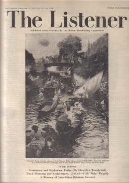 LISTENER SEP 15 1955 GRAHAM GREENE VINTAGE MAGAZINE FOR SALE PURE NOSTALGIA ARCHIVES CLASSIC IMAGES