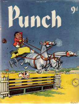 PUNCH MAY 14 1958 P G WODEHOUSE COOKE THELWELL