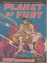 THRILLS INCORPORATED No16 1950S PLANET FURY CARTER YATES
