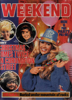WEEKEND DEC 24 TO 30 1980 CHARLENE TILTON DALLAS CORONATION STREET