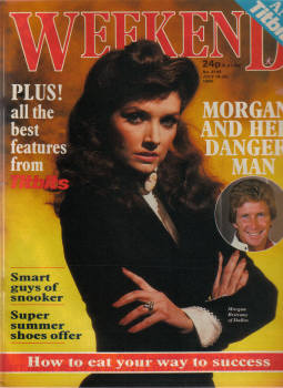 DALLAS WEEKEND JULY 18-24 1984 MORGAN BRITTANY VINTAGE MAGAZINE