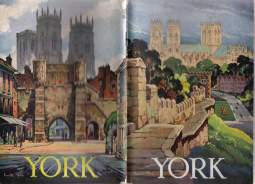 YORK CITY OFFICIAL GUIDE 1963 KENNETH STEEL COVERS OLD BOOK FOR SALE